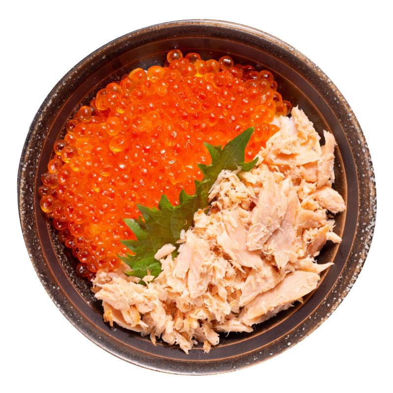 いくら鮭親子丼セット 【オンライン限定】