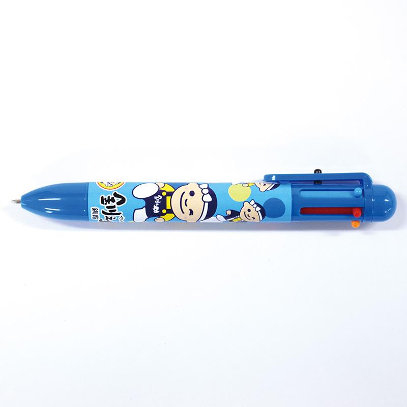 6色ボールペン[青]