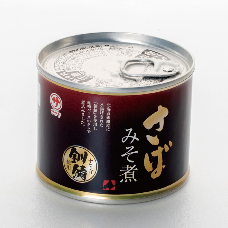 鯖味噌煮缶