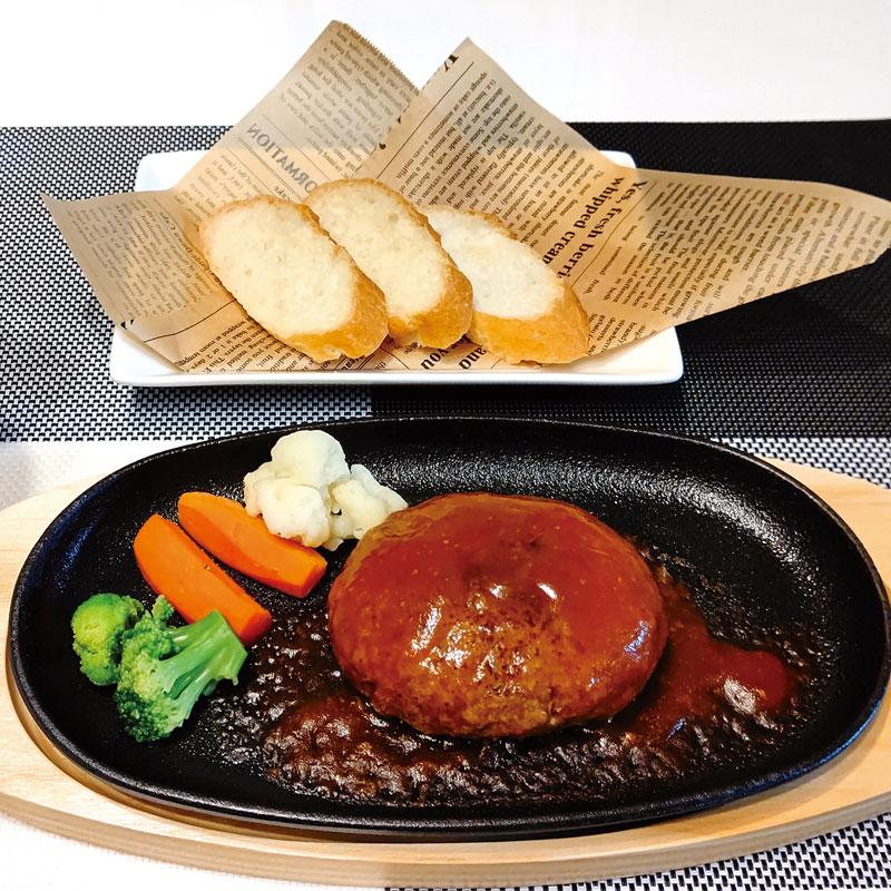 鱈のハンバーグ デミグラスソース