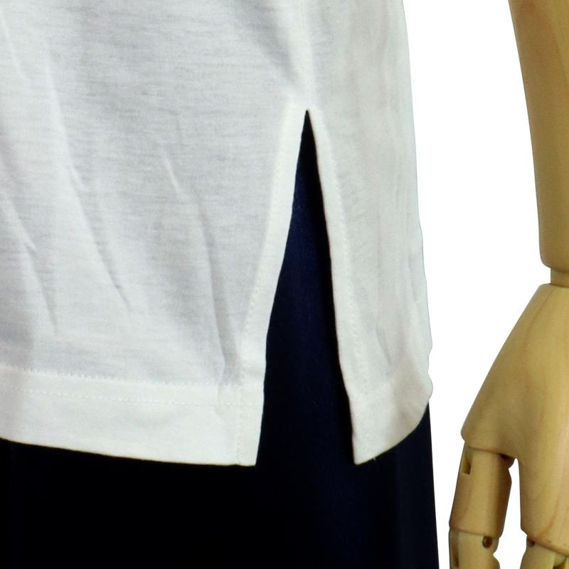 中国製 綿100%Tシャツ 陰陽(白・Sサイズ)【半袖・プリント】