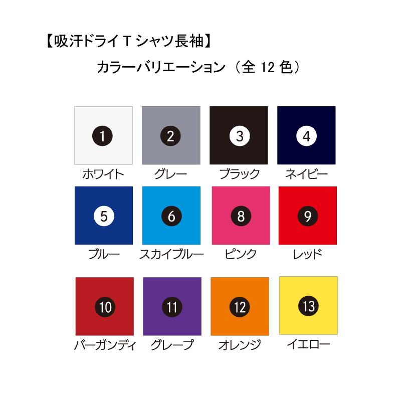 吸汗ドライTシャツ フェニックス【長袖・プリント】
