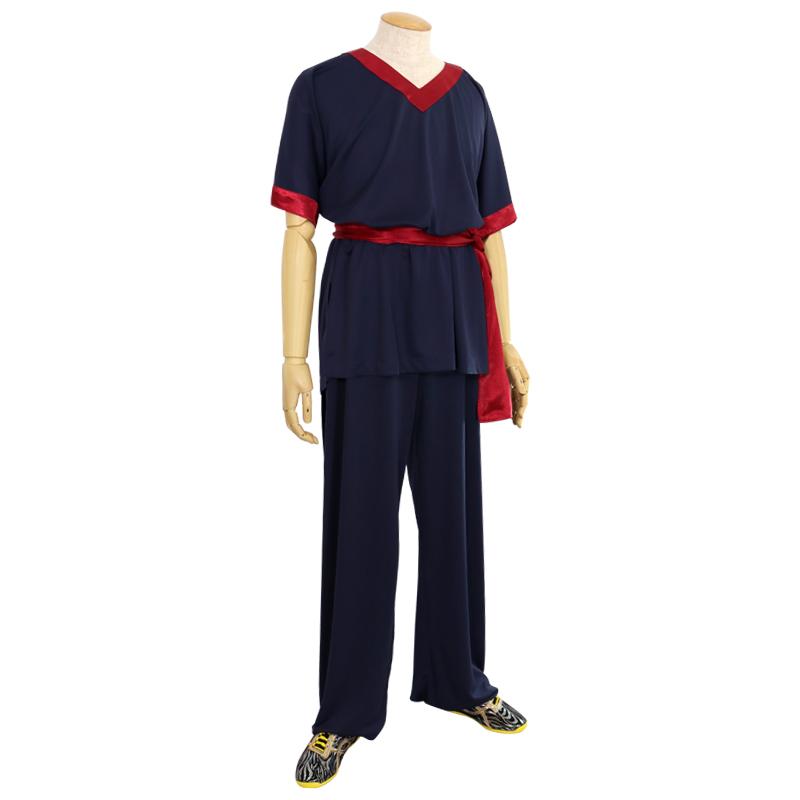 長拳用 公認表演服(帯付き)【ストレッチ・男子】