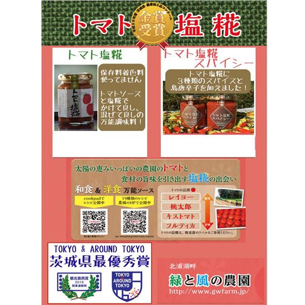 【送料無料対象商品】トマト&糀ソース3種各2本セット