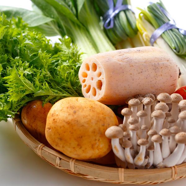 【旬の野菜 5種類セット】行方市観光物産館「こいこい」 野菜ボックス