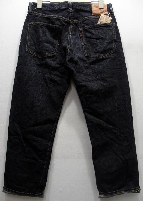 WAREHOUSE(ウエアハウス) [2ND-HAND Lot.1100/Real Vintage Dark Black Used Wash-Tight Fitting/ヴィンテージジーンズ/ショートタイプ/タイトフィット]