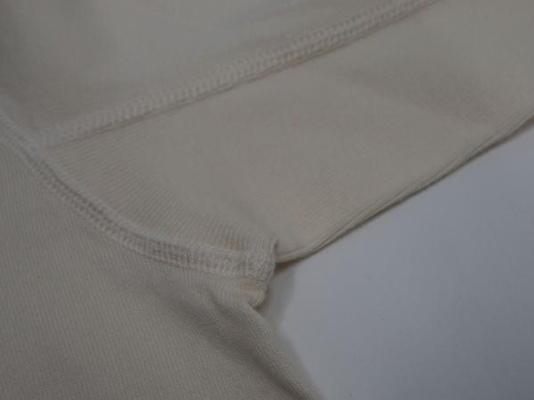 FULLCOUNT(フルカウント)[Lot.5222LH-20 Flatseam Heavy Weight 3B Henley Long T-Shirt/Ecru/3Bヘンリー]