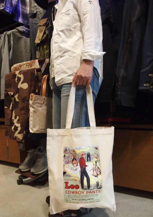 Lee(リー) Work Line Collection [Original Poster Print Tote Bag/トートバッグ]