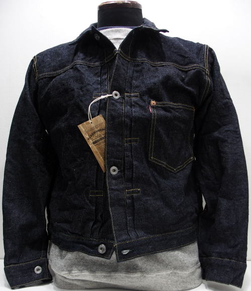 WAREHOUSE(ウエアハウス)Original Vintage Denim Jacket [Lot.DD-s2001xx New Denim/WW II MODEL-ONE WASH/Gジャン/デニムジャケット]