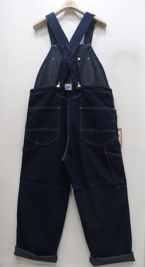 Lee(リー) [DUNGAREES OVERALL/LOW-BACK RINSE/オーバーオール]/Made in Japan
