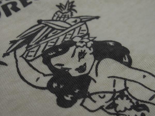 WAREHOUSE(ウエアハウス)Original Tee [Lot.4091 USN SKIVVY SHIRTS-GUAM/Beige/半袖Tee]