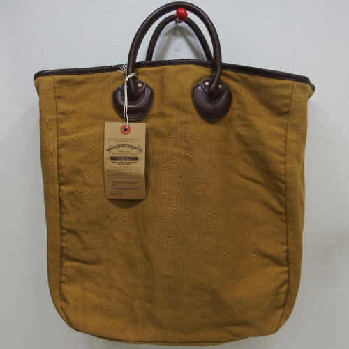 WAREHOUSE(ウエアハウス)[Lot.5230 CANVAS TOTE BAG/Dark Beige/トートバッグ]
