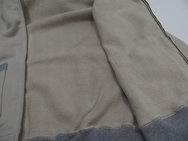 TOYS McCOY(トイズマッコイ)[McHILL SPORTS WEAR HEAVY WEIGHT FULL ZIP SWEAT PARKA/Sand/ミリタリースウェット/フルジップパーカ]