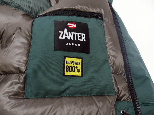 ZANTER(ザンター)[DOWN PARKA WP/Lot.6705-Green/ダウンジャケット/ダウンパーカー]