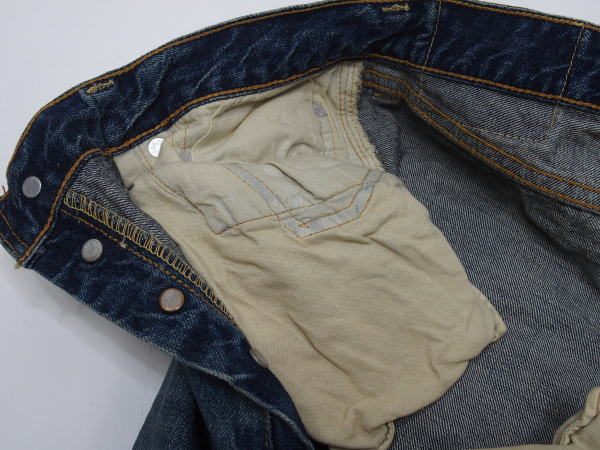 WAREHOUSE(ウエアハウス) [2ND-HAND Lot.1100/Real Vintage Used Wash-Tight Fitting/Used/ヴィンテージジーンズ]