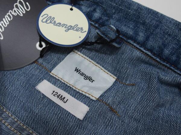 Wrangler(ラングラー)[ARCHIVE STORY 124MJ JACKET-356/デニムジャケット/Gジャン]