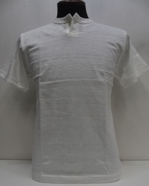 WAREHOUSE(ウエアハウス)Original Tee [Lot.4082/1-Button Henry Neck-White/1Bヘンリーネック/半袖Tee]
