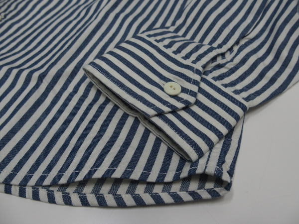 Arvor Maree(アルボー・マレー)[SAILOR WORK LONG SLEEVE SHIRT/Stripe/ワークシャツ]