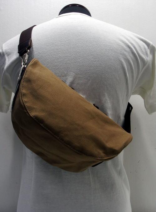 Butler Verner Sails(バトラーバーナーセイルズ)[Paraffin×Leather Shoulder Bag/Body Type/ボディバッグ/ポーチ]
