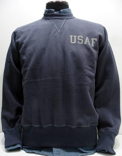 TOYS McCOY(トイズマッコイ)[MILITARY SWEAT SHIRT/USAF-Navy Gray/ミリタリースウェット/ヴィンテージスウェット]