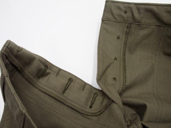 WAREHOUSE(ウエアハウス) [Military Pants/Herringbone Cross Lot.1086/ミリタリーパンツツ/ベーカーパンツ/ヘリンボーン/Olive]