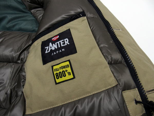 ZANTER(ザンター)[DOWN PARKA WP/Lot.6705-Beige/ダウンジャケット/ダウンパーカー]