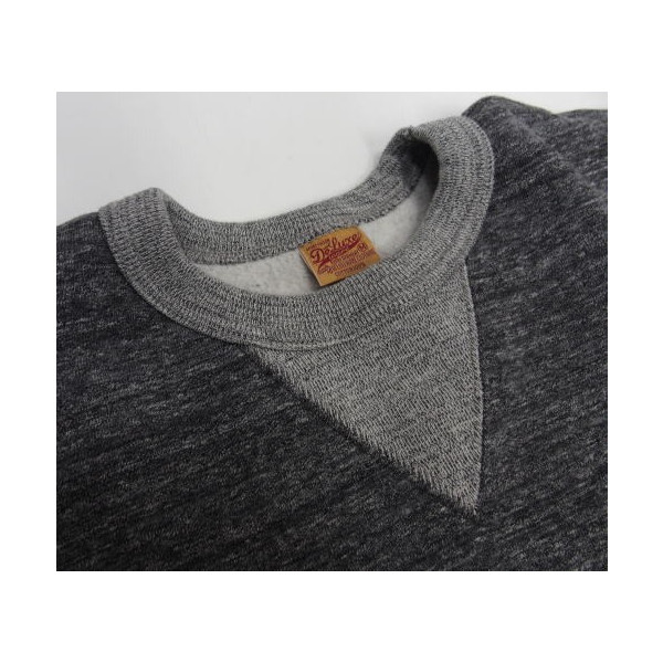 Deluxeware(デラックスウエア)Mix Thread Heavy Sweater [Lot.S100-01/スウェット/日本製/B柄]