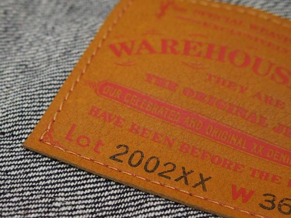 WAREHOUSE(ウエアハウス) [Lot.2002xx 2ND TYPE DENIM JACKET/Non-wash/Gジャン/デニムジャケット]