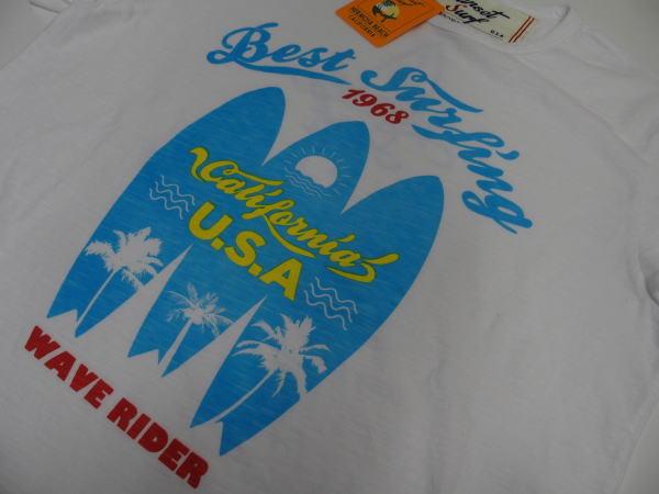 SUNSET SURF(サンセットサーフ)Safu T-Shirts[BEST SURFING/White/半袖Tee/プリントTee]