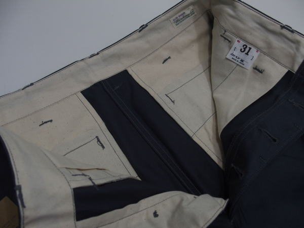 WAREHOUSE(ウエアハウス)Original Vintage Chinoes [Lot.1082 MILITARY CHINOES/Not Washing-Blue Gray/チノパン/トラウザース/ミリタリーパンツ]