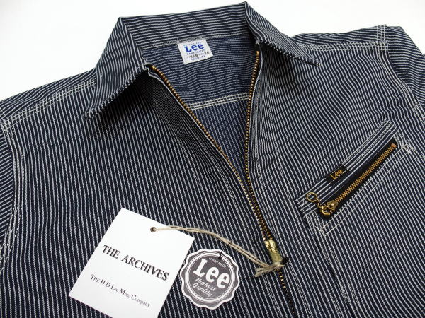 Lee(リー)Archive Real Vintage [50' 98-B SLIM JACKET/Hickory/デニムジャケット]〜限定生産モデル/Made in Japan〜