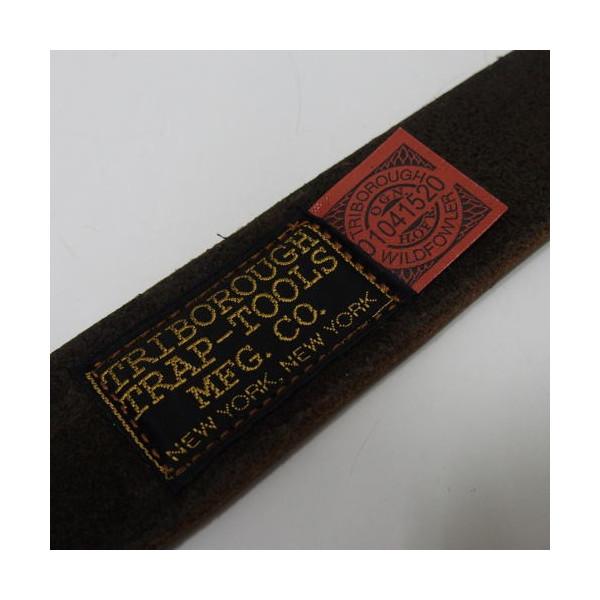 COLIMBO(コリンボ)[Field Belt/W-Pin/フィールドベルト/ダブルピン/Brown]