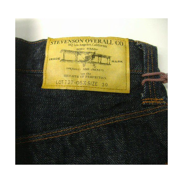 The Stevenson Overall Co.(スティーブンソンオーバーオール)[Ventura-737/ow]