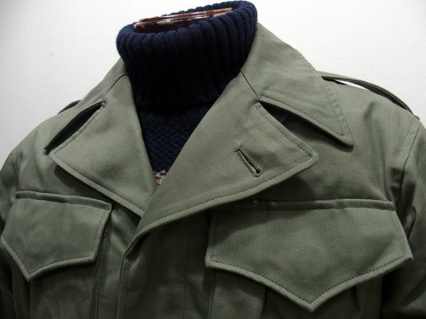 ZANTER(ザンター)[M-1943 Jacket Field Combat/Down Ver./ダウンジャケット/ミリタリージャケット]