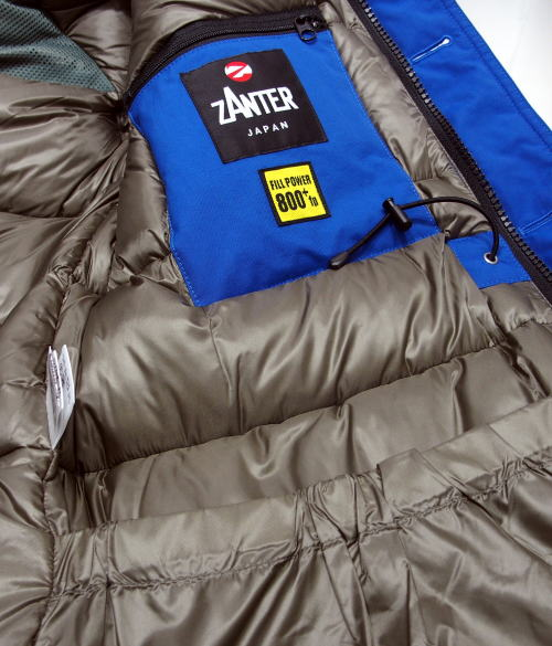 ZANTER(ザンター)[DOWN PARKA WP/Lot.6705-Blue/ダウンジャケット/ダウンパーカー]