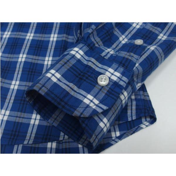 Sweep!!(スウィープ)[Traditional Check Button Down Shirts/トラディショナルチェック/ボタンダウンシャツ/Blue]