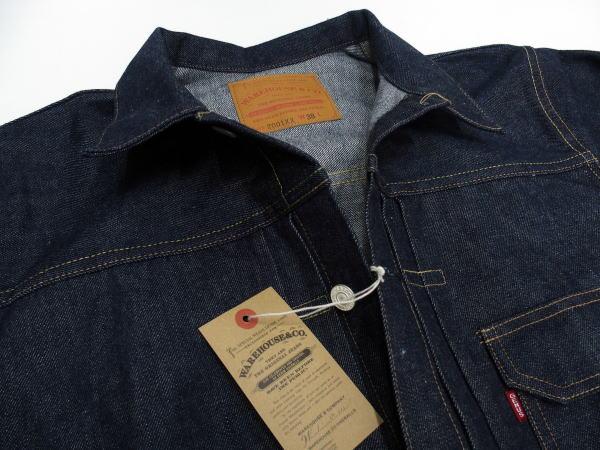 WAREHOUSE(ウエアハウス) [Lot.2001xx 1st Type Denim Jacket/Non-wash/Gジャン/デニムジャケット]