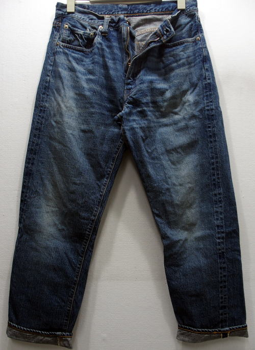 WAREHOUSE(ウエアハウス) [2ND-HAND Lot.1105/Real Vintage Used Wash/Zipper-fly/ヴィンテージジーンズ/ショートタイプ]
