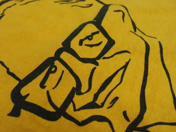 WAREHOUSE(ウエアハウス)Original Tee [2ND-HAND SERIES TEE/Lot.4064 BARRY FOR 64-Yellow/半袖Tee]