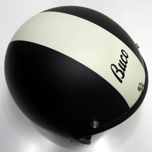 TOYS McCOY(トイズマッコイ)BUCO HELMET [BABY BUCO CENTER STRIPE/MATTE BLACK/ヘルメット]