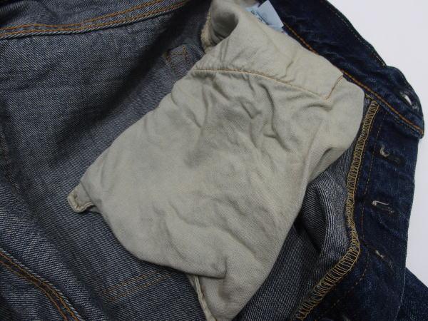 WAREHOUSE(ウエアハウス) [2ND-HAND Lot.1101/Real Vintage Dark Used Wash/Button-fly/ヴィンテージジーンズ/ショートタイプ]