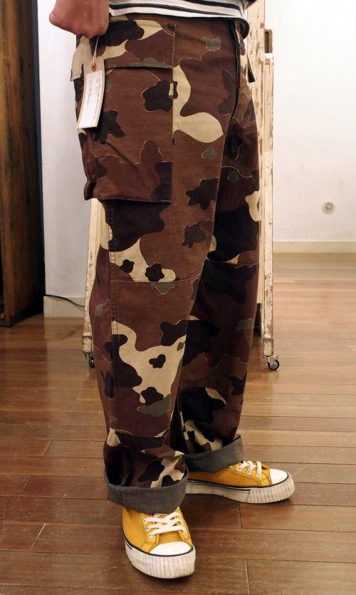 WAREHOUSE(ウエアハウス) Military Pants [U.S.ARMY CAMOUFLAGE CARGO PANTS/Lot.1099/ミリタリーパンツ/カーゴパンツ/カモフラージュ]