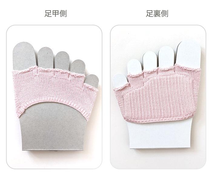 シルクの五本指カバー