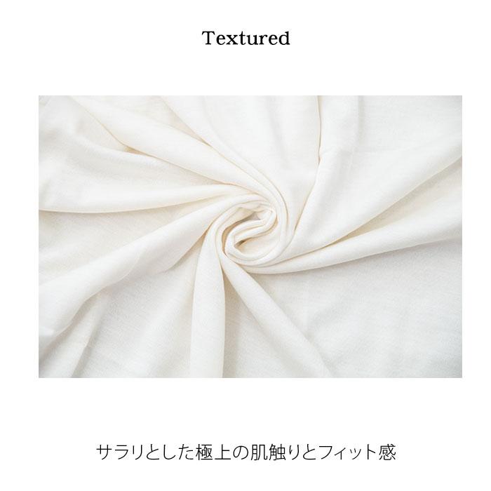 【お買い得3枚セット】 シルク&コットン Vネック半袖インナー M/L/LL