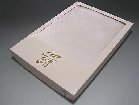 シルクサテンボックスシーツ16.5匁ダブル 送料無料