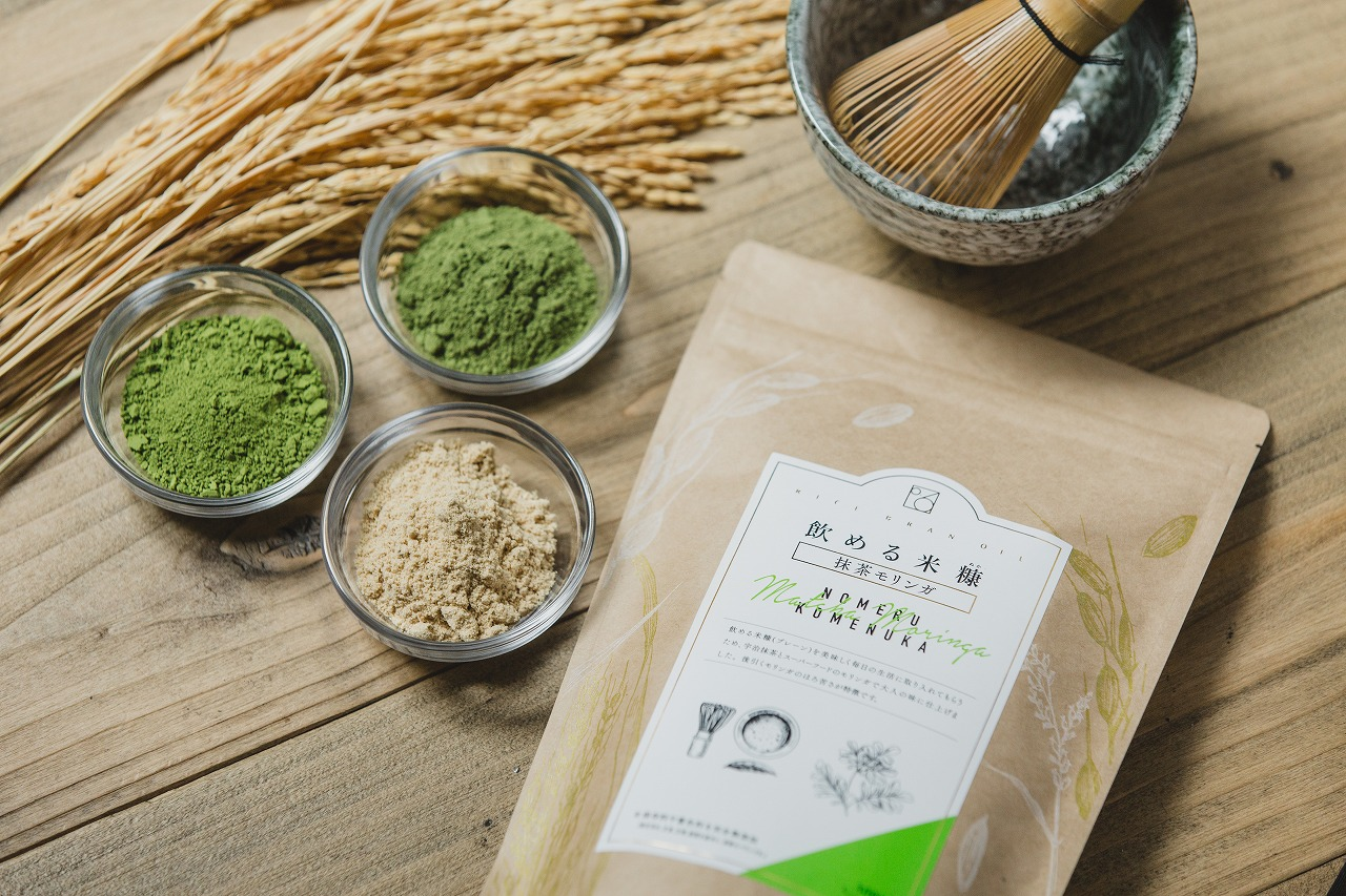 0.6飲める米糠抹茶モリンガ味300g