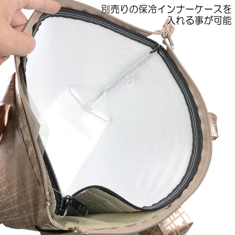 キキ2 ファスナー付きWポケットトート(たためるトートバッグ)