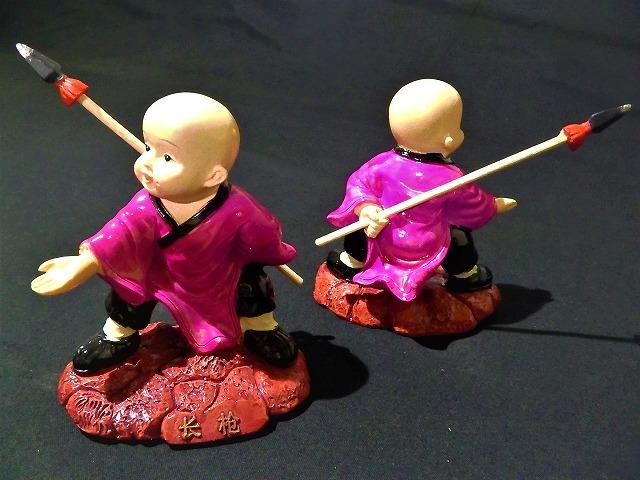 和尚人形(中)  少林寺/人形/土産/仏教/禅/