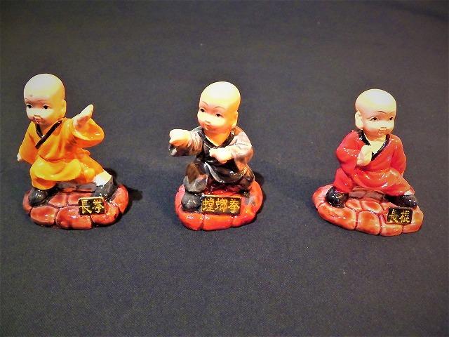 和尚人形(小)  少林寺/人形/土産/仏教/禅/
