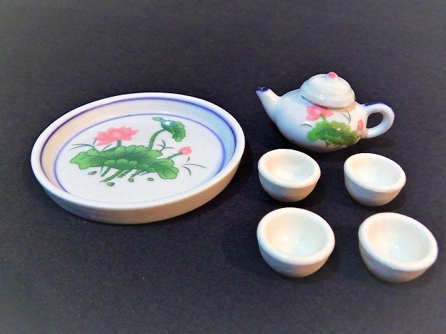 ミニチュア茶器  少林寺/茶器/土産/仏教/禅/中国茶/ミニチュア/陶器